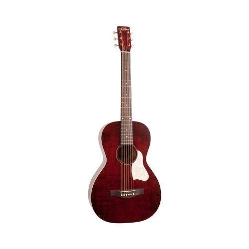 A&L Roadhouse A/E western-guitar tennessee red
