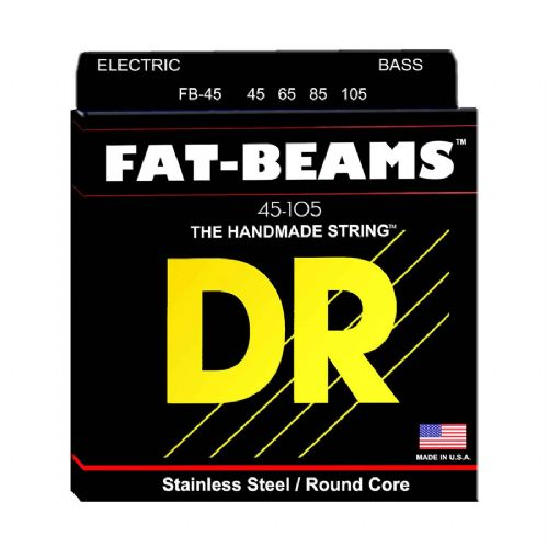 DR Strings FB-45 Fat-Beam bas-strenge, 045-105