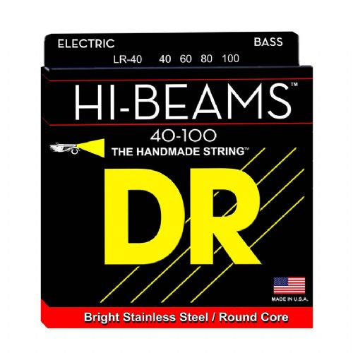 DR Strings LR-40 Hi-Beam bas-strenge, 0040-100