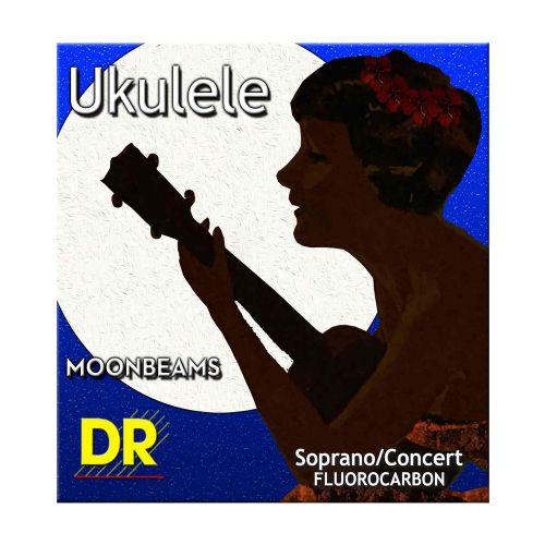 DR Strings UFSC Moonbeam sopran/concert ukulele-strenge