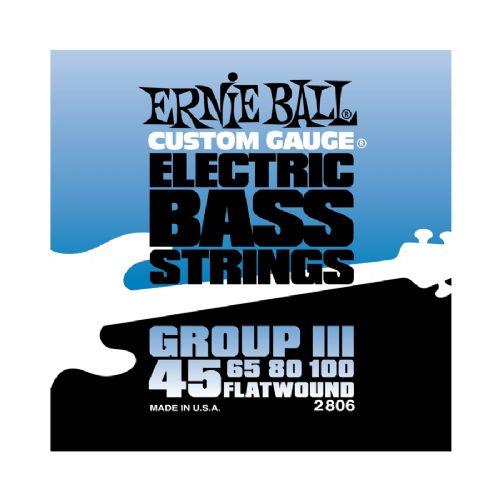 ErnieBall 2806Flatwound bas-strengeIII,045-100