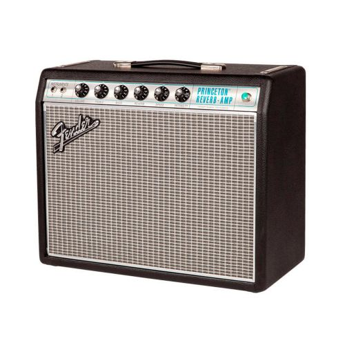 Fender 68CustomPrincetonReverb guitarforstærker blacksilver