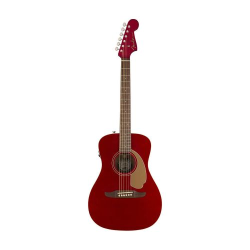 Fender Malibu Player, WN, CAR western-guitar candy apple red
