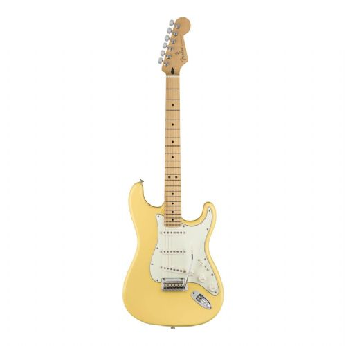 Fender Player Stratocaster, MN, BCR el-guitar buttercream
