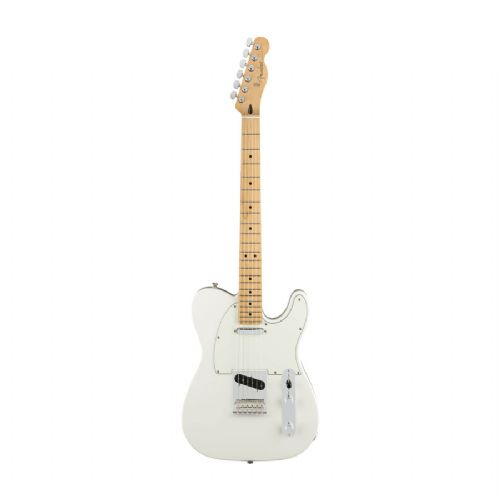Fender Player Telecaster, MN, PWT el-guitar polar white
