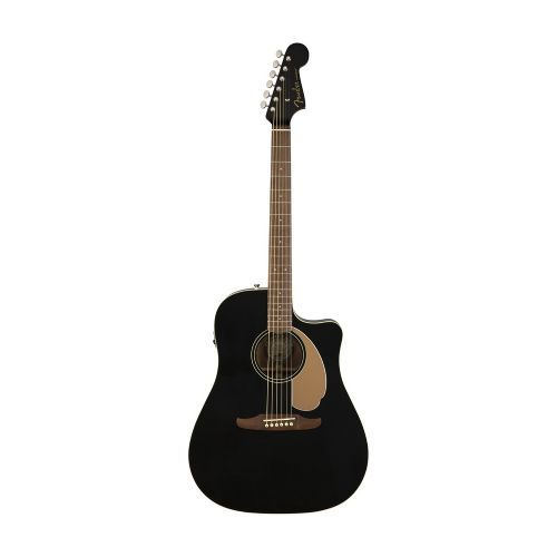 Fender Redondo Player, JTB western-guitar jetty black