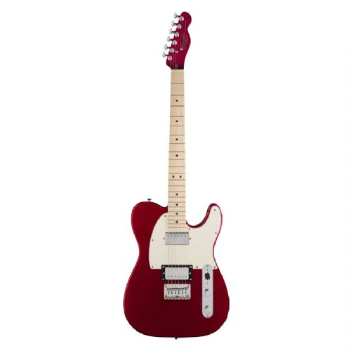 Fender Squier Contemporary Telecaster HH el-guitar dark metallic red