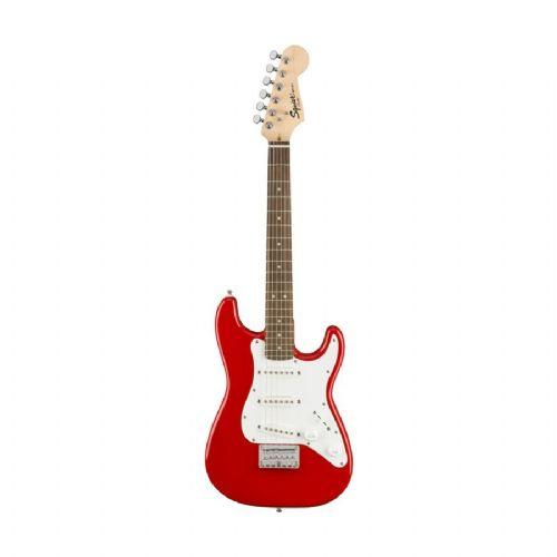 Fender Squier Mini Strat V2, TRD el-guitar torino red