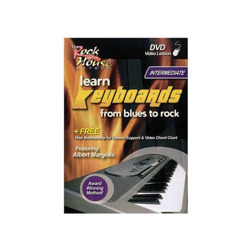 Learn Keyboards From Blues To Rock DVD