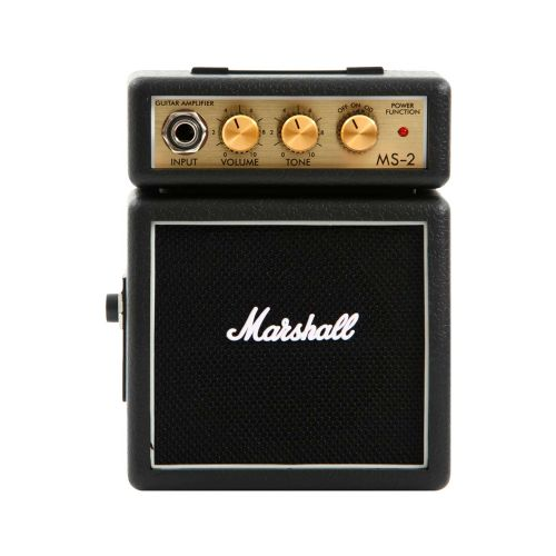 Marshall MS-2 guitarforstærker sort