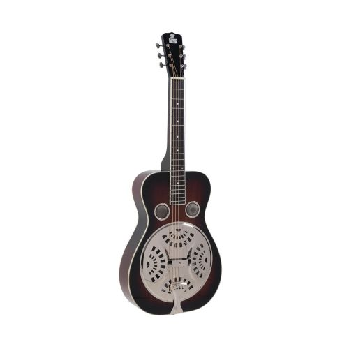 Recording King RR-60 VS squareneck resonator-guitar vintage sunburst