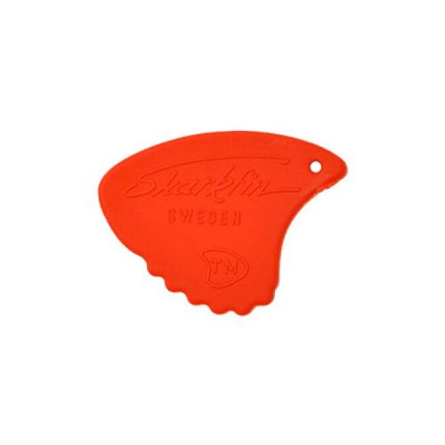 Sharkfin GP 104 Relief, Soft, Red plektre (10 stk)