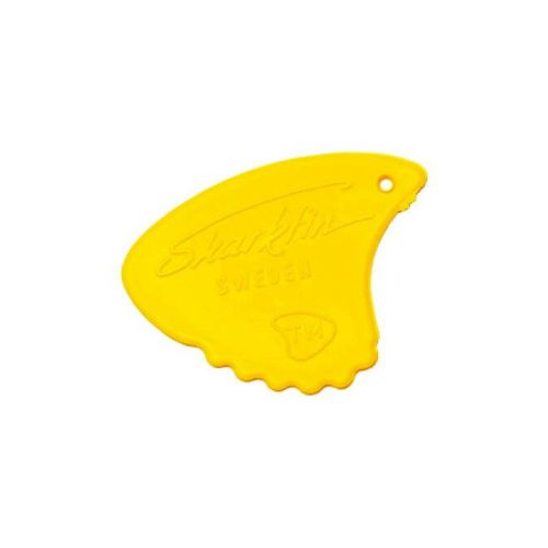 Sharkfin GP 105 Relief, Medium, Yellow plektre (10 stk)