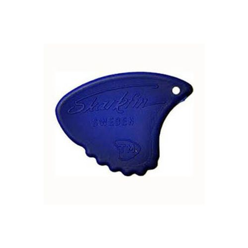 Sharkfin GP 106 Relief, Hard, Blue plektre (10 stk)