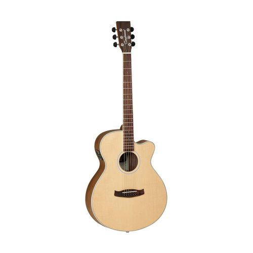 Tanglewood DBT SFCE BW Discovery Exotic western-guitar