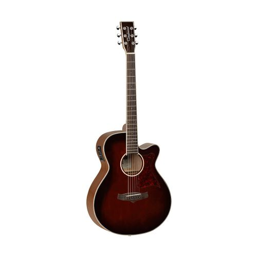 Tanglewood TW4 E WB Winterleaf western-guitar whiskey barrel